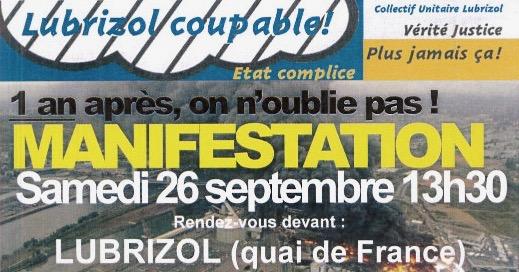 LUBRIZOL: 15 mois déjà! 4777 citoyen.ne.s pour l'enquête de Santé Publique France