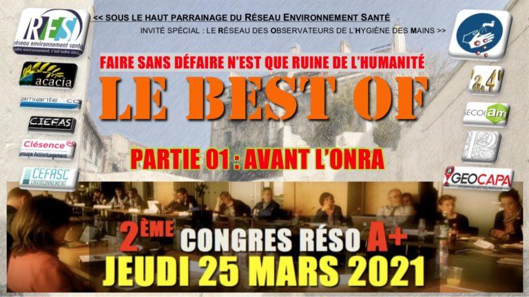 Ici, le Best Of du congrès A+ du 25/03/21