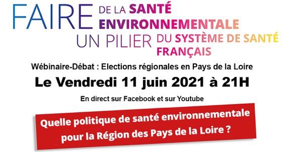 11/06/21 – Les Pays de la Loire ont fait un tabac avec la Santé Environnementale!