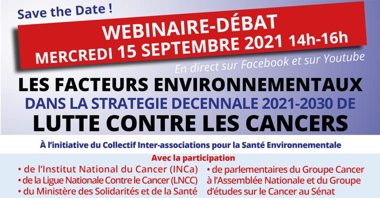 Cancers : quid de la santé environnementale dans la stratégie décennale ?