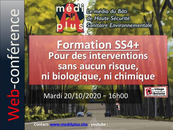 Conférence Préventica SS4+ : pour des chantiers sans aucun risque, ni biologique ni chimique.