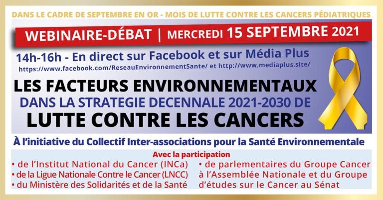 Santé environnementale: un axe stratégique dans le plan cancer?